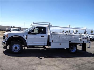 2020 Ford F-550 Regular Cab DRW 4x2, Scelzi CTFB Contractor Body #FL2809 - photo 3