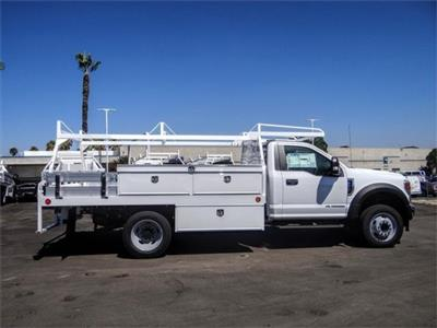 2020 Ford F-550 Regular Cab DRW 4x2, Scelzi CTFB Contractor Body #FL2809 - photo 5