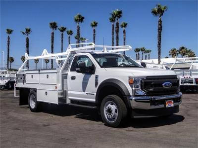 2020 Ford F-550 Regular Cab DRW 4x2, Scelzi CTFB Contractor Body #FL2809 - photo 6
