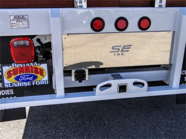 2020 Ford F-550 Regular Cab DRW 4x2, Scelzi WFB Flatbed #FL2822 - photo 10