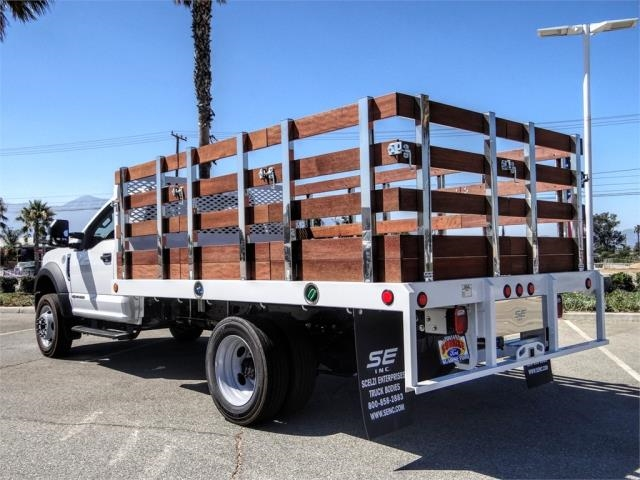 2020 Ford F-550 Regular Cab DRW 4x2, Scelzi WFB Flatbed #FL2822 - photo 2