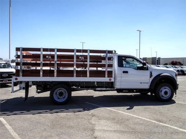 2020 Ford F-550 Regular Cab DRW 4x2, Scelzi WFB Flatbed #FL2822 - photo 5