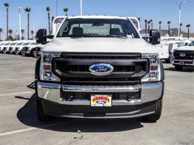 2020 Ford F-550 Regular Cab DRW 4x2, Scelzi WFB Flatbed #FL2822 - photo 7