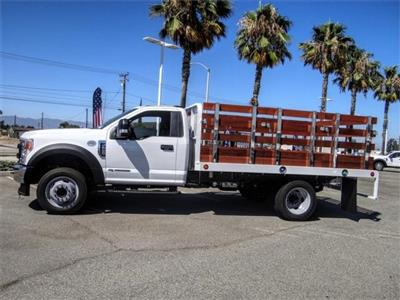 2020 Ford F-550 Regular Cab DRW 4x2, Scelzi WFB Flatbed #FL2822 - photo 3