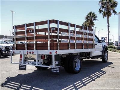 2020 Ford F-550 Regular Cab DRW 4x2, Scelzi WFB Flatbed #FL2822 - photo 4