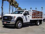 2020 Ford F-550 Regular Cab DRW 4x2, Scelzi WFB Flatbed #FL2822 - photo 1