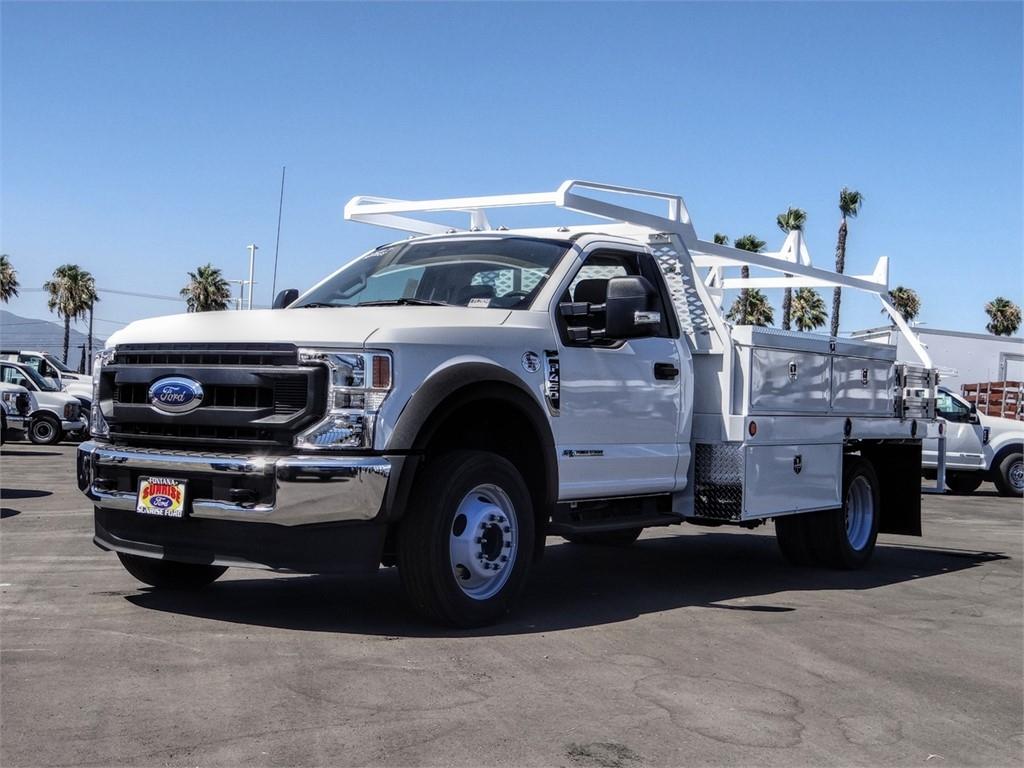 2020 Ford F-450 Regular Cab DRW 4x2, Scelzi Contractor Body #FL2834 - photo 1