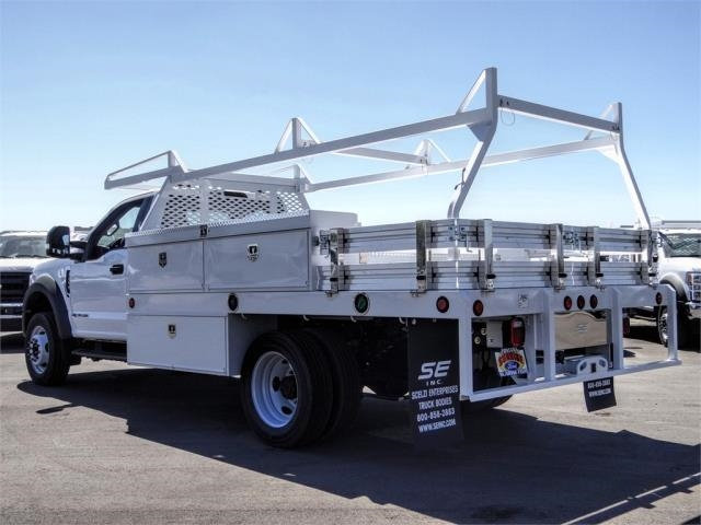 2020 Ford F-450 Regular Cab DRW 4x2, Scelzi CTFB Contractor Body #FL2834 - photo 2