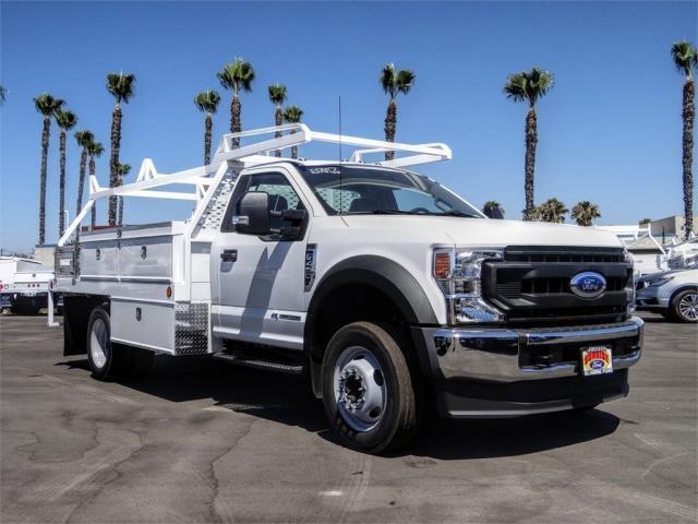 2020 Ford F-450 Regular Cab DRW 4x2, Scelzi CTFB Contractor Body #FL2834 - photo 6