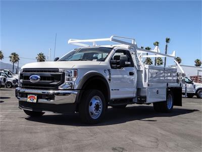 2020 Ford F-450 Regular Cab DRW 4x2, Scelzi CTFB Contractor Body #FL2834 - photo 1