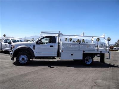 2020 Ford F-450 Regular Cab DRW 4x2, Scelzi CTFB Contractor Body #FL2834 - photo 3