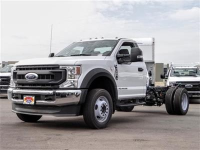 2020 Ford F-550 Regular Cab DRW 4x2, Cab Chassis #FL2846 - photo 1