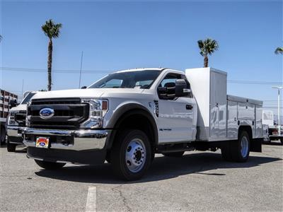 2020 Ford F-550 Regular Cab DRW 4x2, Scelzi Signature Service Body #FL2846 - photo 1