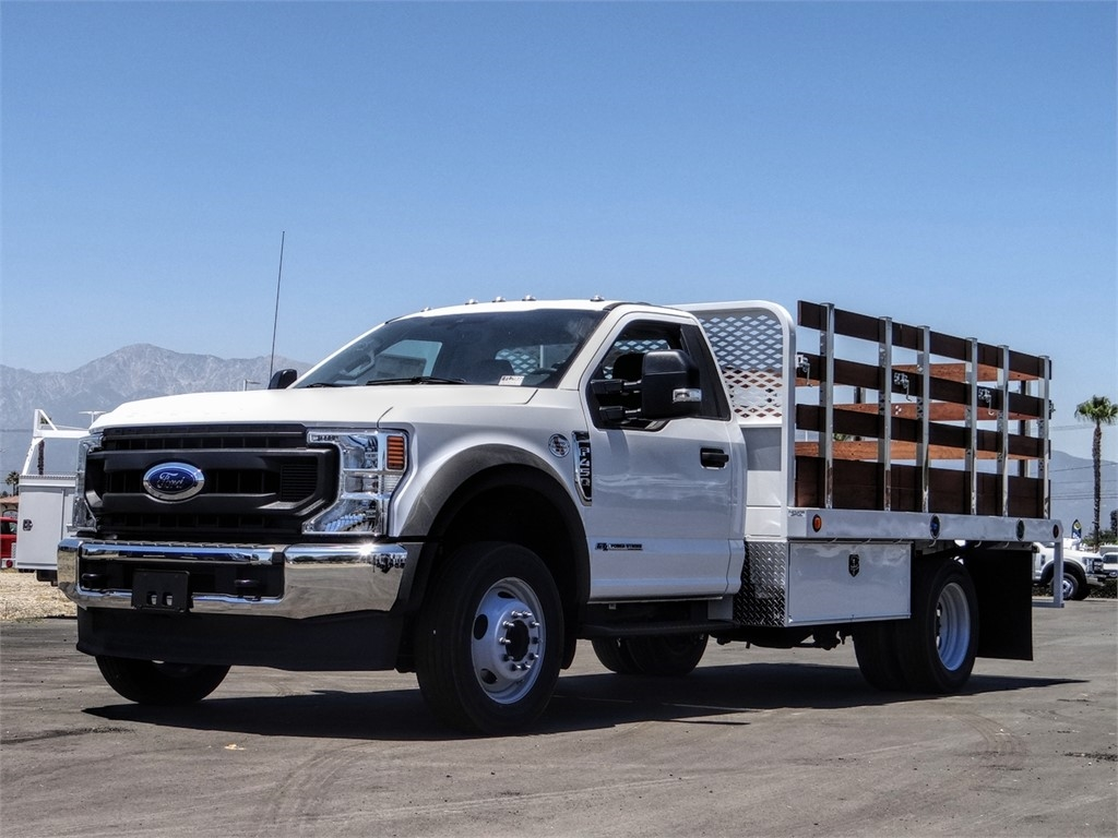 2020 Ford F-450 Regular Cab DRW 4x2, Scelzi Stake Bed #FL2866 - photo 1