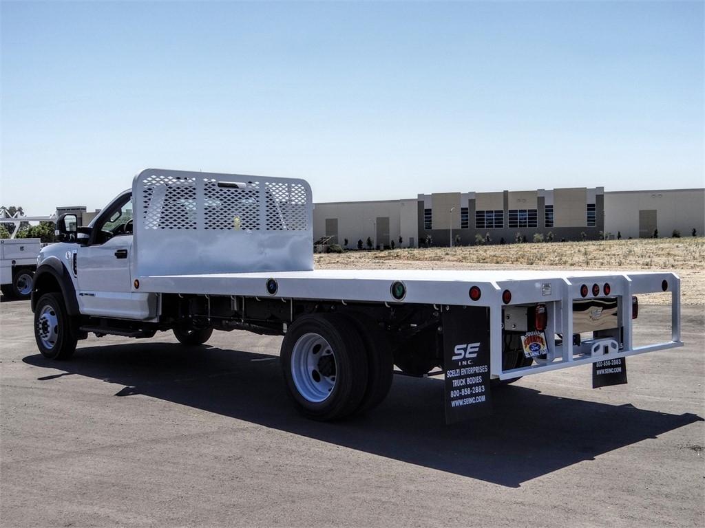 2020 Ford F-550 Regular Cab DRW 4x2, Scelzi Platform Body #FL2868 - photo 1