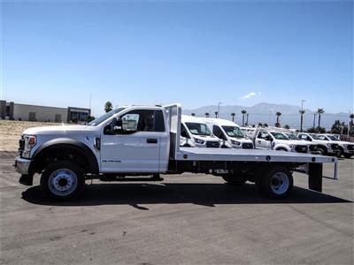 2020 Ford F-550 Regular Cab DRW 4x2, Scelzi WFB Flatbed #FL2868 - photo 3