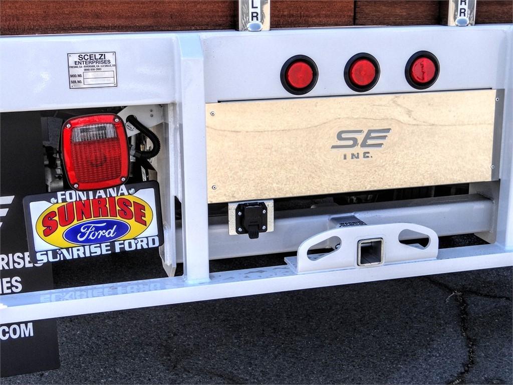2020 Ford F-450 Crew Cab DRW 4x2, Scelzi WFB Flatbed #FL2870 - photo 11