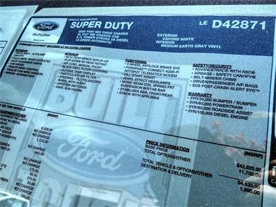 2020 Ford F-450 Crew Cab DRW 4x2, Scelzi WFB Flatbed #FL2870 - photo 12