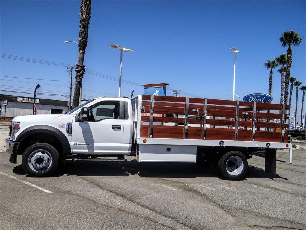 2020 Ford F-550 Regular Cab DRW 4x2, Scelzi Stake Bed #FL2886 - photo 3