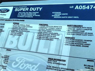 2020 Ford F-550 Regular Cab DRW 4x2, Scelzi Stake Bed #FL2886 - photo 13
