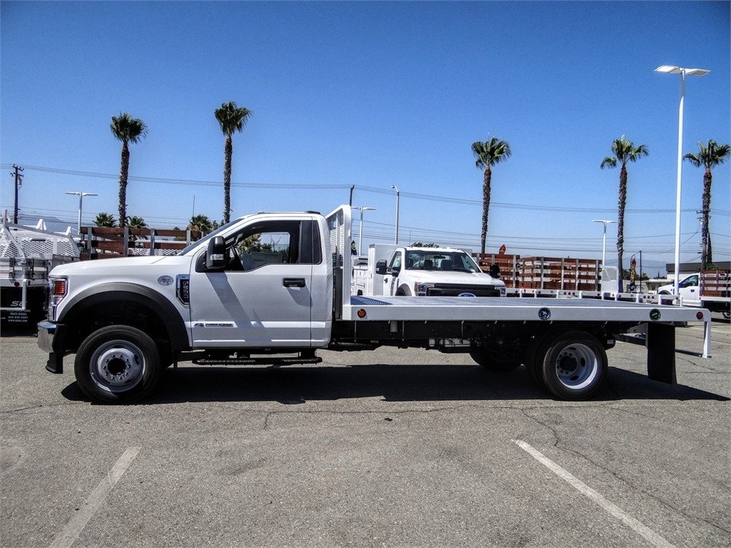 2020 Ford F-550 Regular Cab DRW 4x2, Scelzi WFB Flatbed #FL2887 - photo 3