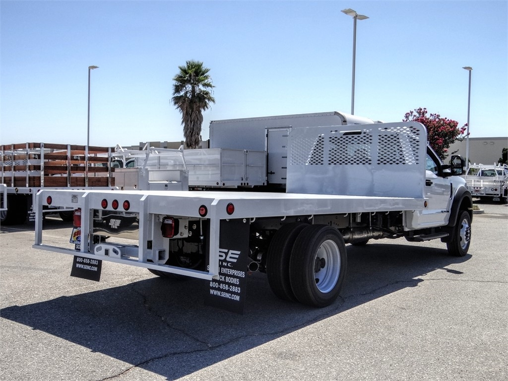 2020 Ford F-550 Regular Cab DRW 4x2, Scelzi WFB Flatbed #FL2887 - photo 4