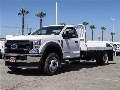 2020 Ford F-550 Regular Cab DRW 4x2, Scelzi WFB Flatbed #FL2887 - photo 1