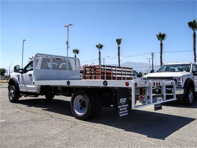 2020 Ford F-550 Regular Cab DRW 4x2, Scelzi WFB Flatbed #FL2887 - photo 2