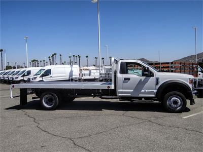 2020 Ford F-550 Regular Cab DRW 4x2, Scelzi WFB Flatbed #FL2887 - photo 5