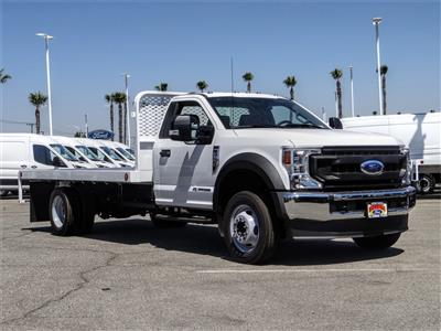 2020 Ford F-550 Regular Cab DRW 4x2, Scelzi WFB Flatbed #FL2887 - photo 6
