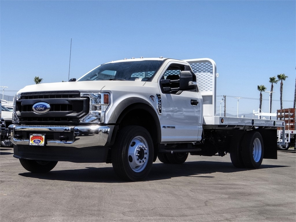 2020 Ford F-550 Regular Cab DRW 4x2, Scelzi WFB Flatbed #FL2903 - photo 1