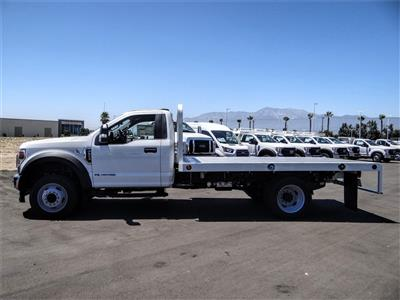 2020 Ford F-550 Regular Cab DRW 4x2, Scelzi WFB Flatbed #FL2903 - photo 3