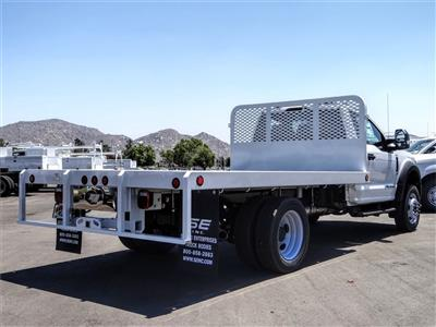 2020 Ford F-550 Regular Cab DRW 4x2, Scelzi WFB Flatbed #FL2903 - photo 4