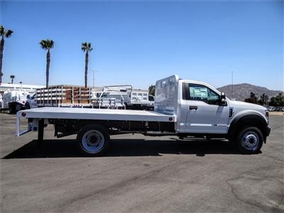 2020 Ford F-550 Regular Cab DRW 4x2, Scelzi WFB Flatbed #FL2903 - photo 5