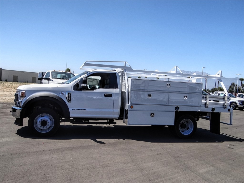 2020 Ford F-550 Regular Cab DRW 4x2, Scelzi SCTFB Contractor Body #FL2921 - photo 3