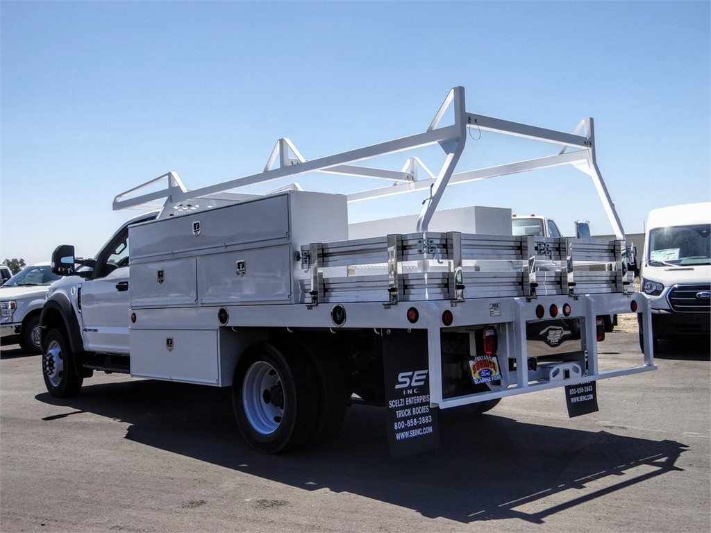2020 Ford F-550 Regular Cab DRW 4x2, Scelzi SCTFB Contractor Body #FL2921 - photo 2