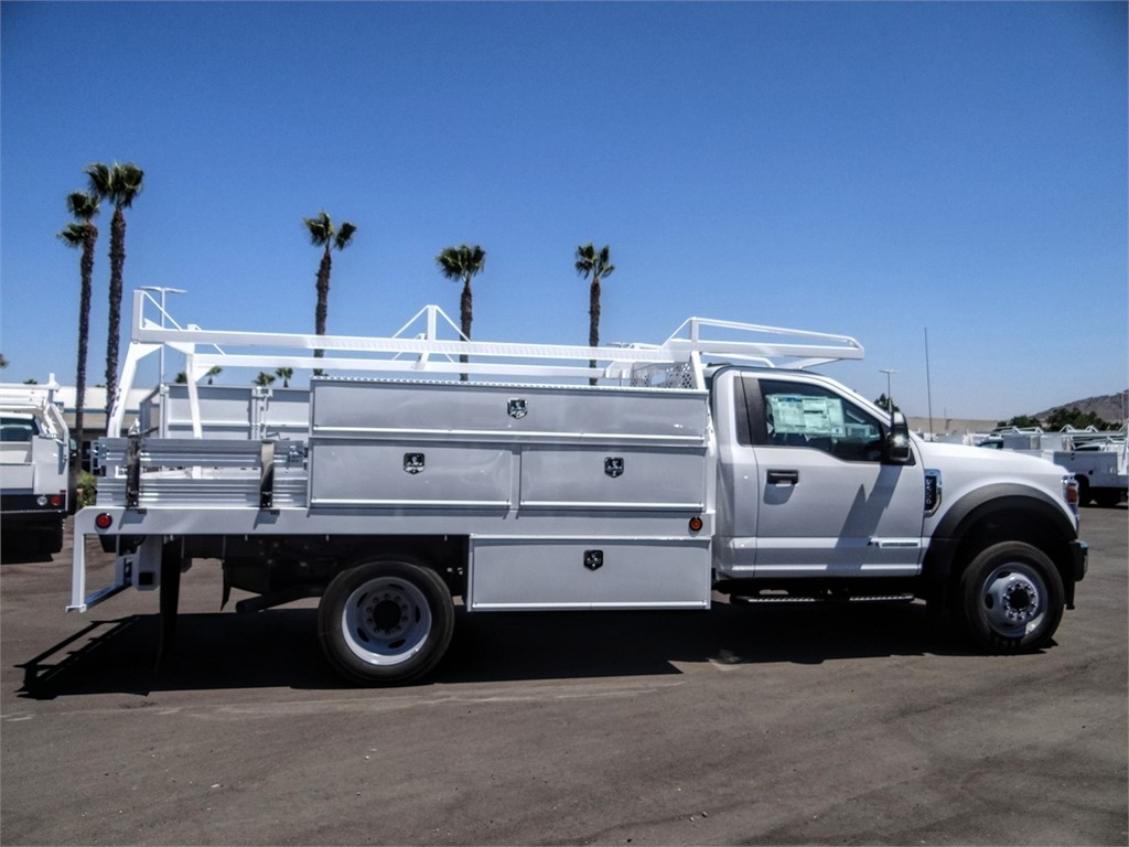 2020 Ford F-550 Regular Cab DRW 4x2, Scelzi SCTFB Contractor Body #FL2921 - photo 5