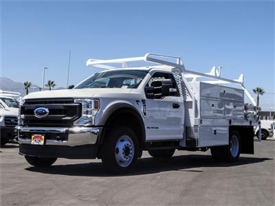 2020 Ford F-550 Regular Cab DRW 4x2, Scelzi SCTFB Contractor Body #FL2921 - photo 1