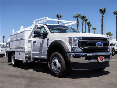 2020 Ford F-550 Regular Cab DRW 4x2, Scelzi SCTFB Contractor Body #FL2921 - photo 6
