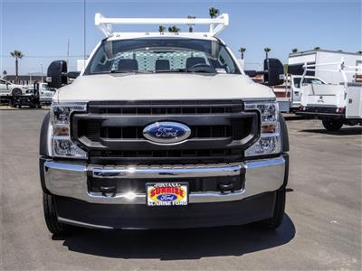 2020 Ford F-550 Regular Cab DRW 4x2, Scelzi SCTFB Contractor Body #FL2921 - photo 7