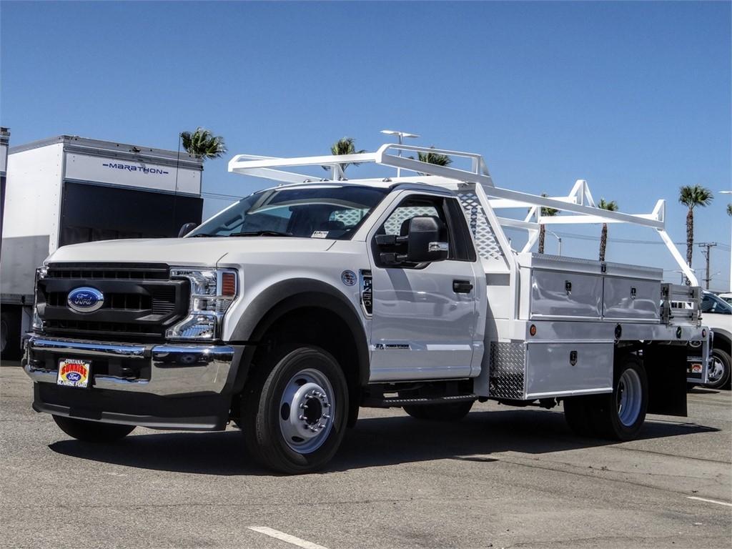 2020 Ford F-450 Regular Cab DRW 4x2, Scelzi Contractor Body #FL2922 - photo 1