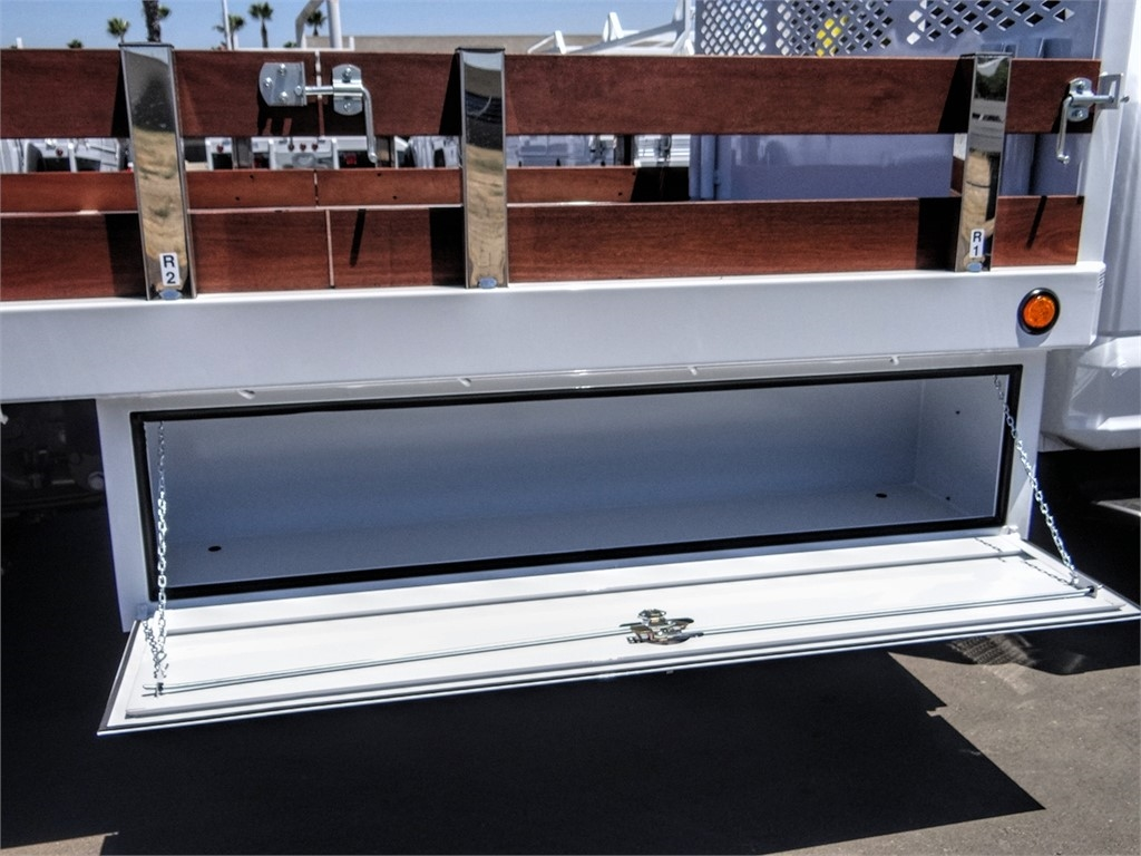 2020 Ford F-550 Regular Cab DRW 4x2, Scelzi WFB Stake Bed #FL2923 - photo 12