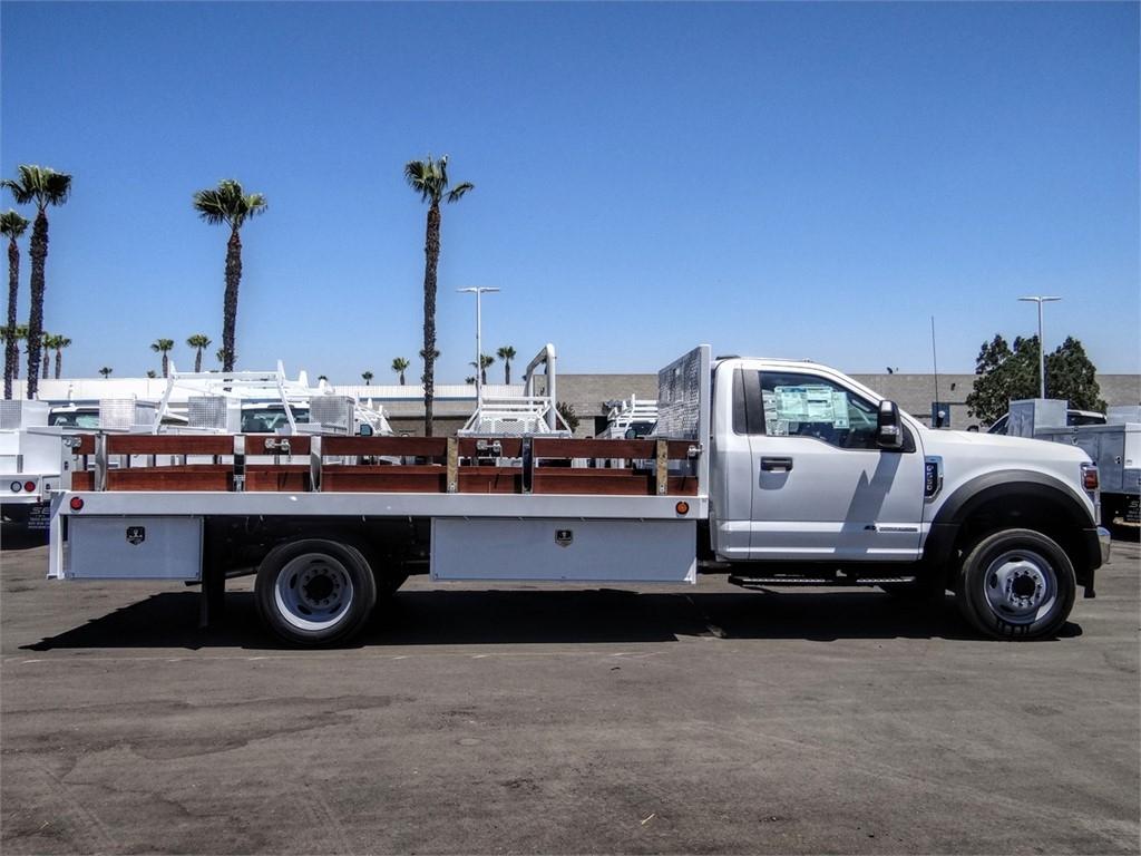 2020 Ford F-550 Regular Cab DRW 4x2, Scelzi WFB Stake Bed #FL2923 - photo 5
