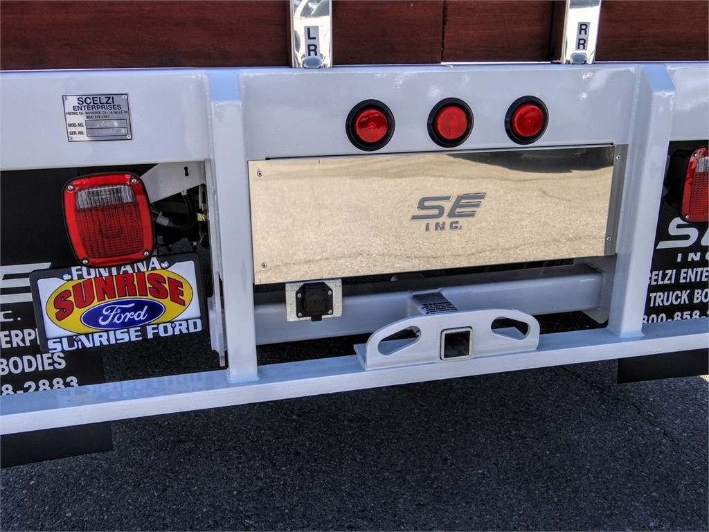 2020 Ford F-550 Regular Cab DRW 4x2, Scelzi WFB Stake Bed #FL2924 - photo 10
