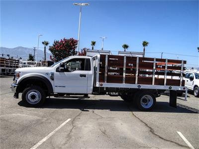 2020 Ford F-550 Regular Cab DRW 4x2, Scelzi WFB Stake Bed #FL2924 - photo 3