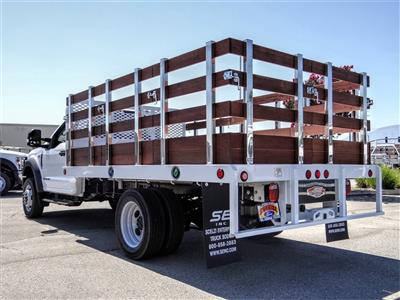 2020 Ford F-550 Regular Cab DRW 4x2, Scelzi WFB Stake Bed #FL2924 - photo 2