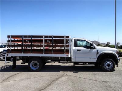 2020 Ford F-550 Regular Cab DRW 4x2, Scelzi WFB Stake Bed #FL2924 - photo 5