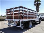 2020 Ford F-550 Regular Cab DRW 4x2, Scelzi WFB Stake Bed #FL2924 - photo 4