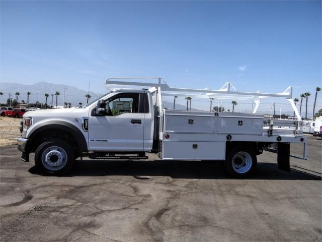 2020 Ford F-550 Regular Cab DRW 4x2, Scelzi CTFB Contractor Body #FL2935 - photo 3