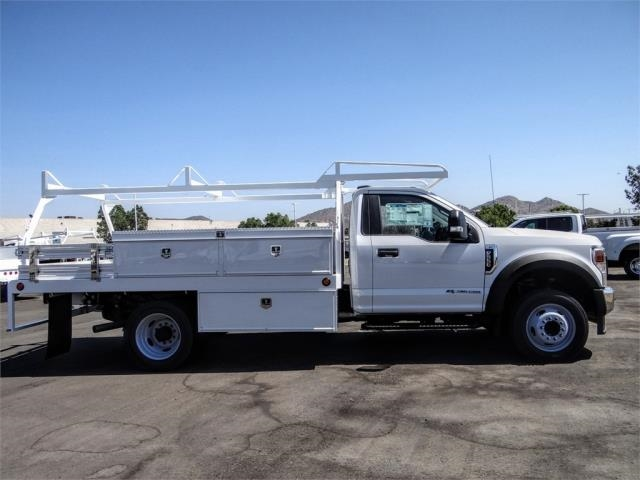 2020 Ford F-550 Regular Cab DRW 4x2, Scelzi CTFB Contractor Body #FL2935 - photo 5